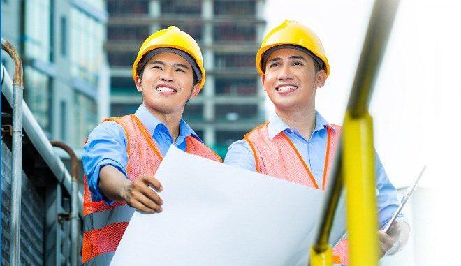 nhân công xây nhà